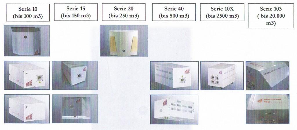Nebulizadores Volumen recomendado por modelo